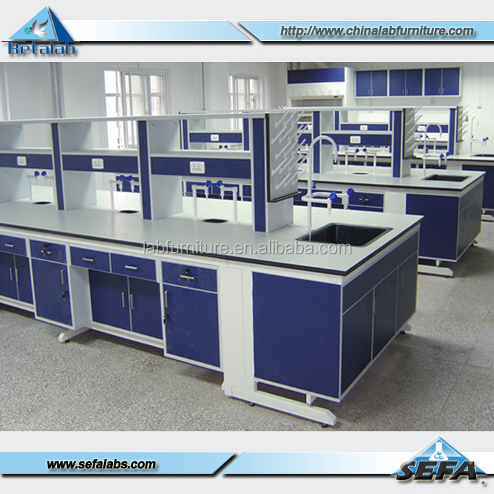 Modern Classroom Furniture Physics Laboratory Work Table