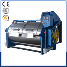 textile industrial hand operated horizontal shape 200kg washing machine