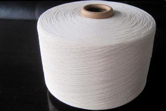 Ne 20/1 OE carded recycled cotton knitting yarn for towel