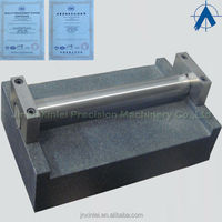 DIN000 surface plate precision 2.5um Granite components made in china