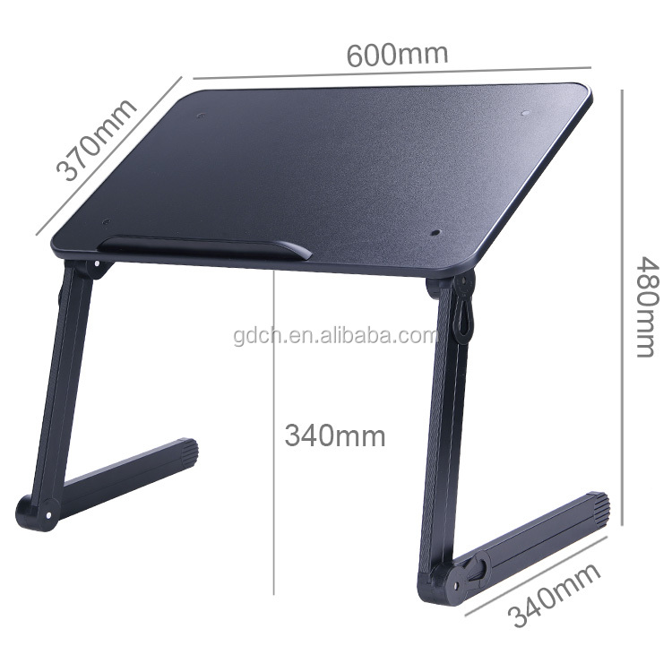 โมเดิร์นโต๊ะคอมพิวเตอร์แบบพกพาอลูมิเนียมคอมพิวเตอร์โต๊ะ