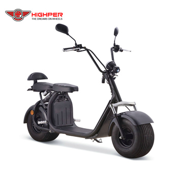 1000W 48V/60V  city coco big fat tyre adult EEC electric scooter (HP111E-B)