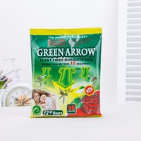 TOP QUALITY pest control disposable plant fiber mosquito coil effective within 15 seconds
