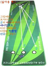 golf putting practice mat