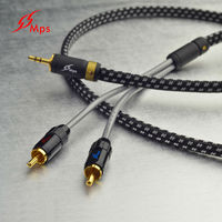 MPS X-7 Leopard 3.5 mm Jack Male to 2 RCA male Connector Cable