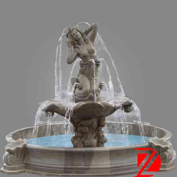 Stone Mermaid Statue Water Fountain Wholesale, Fountain Suppliers   Alibaba