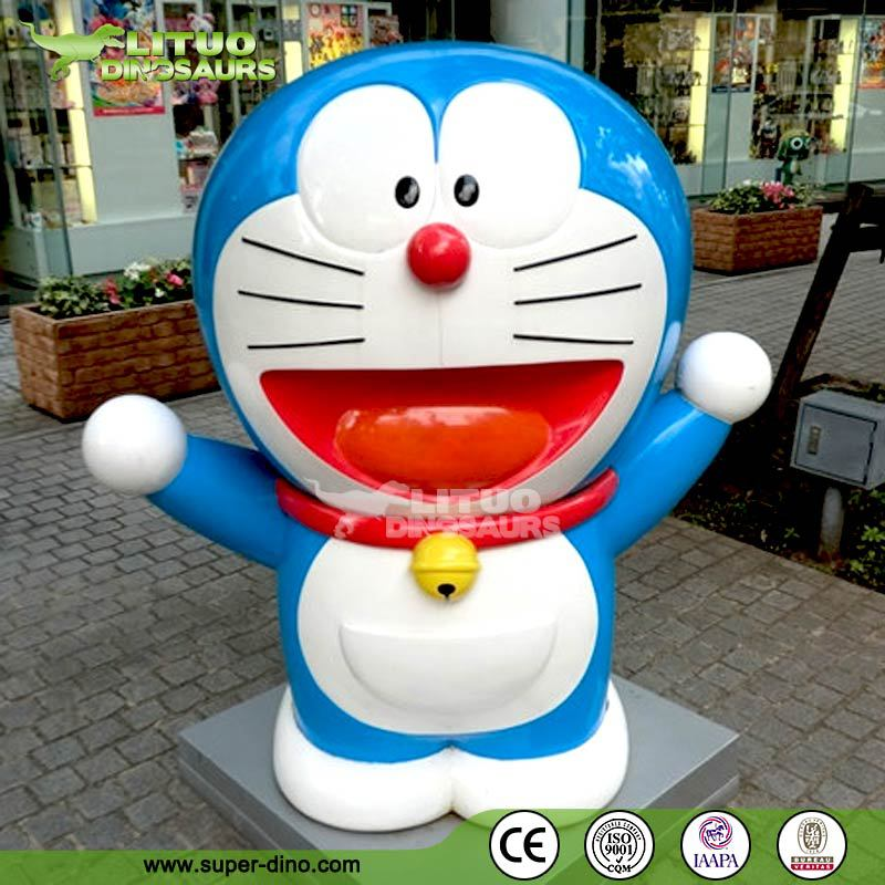 Animated Life Size Cartoon Character Statue