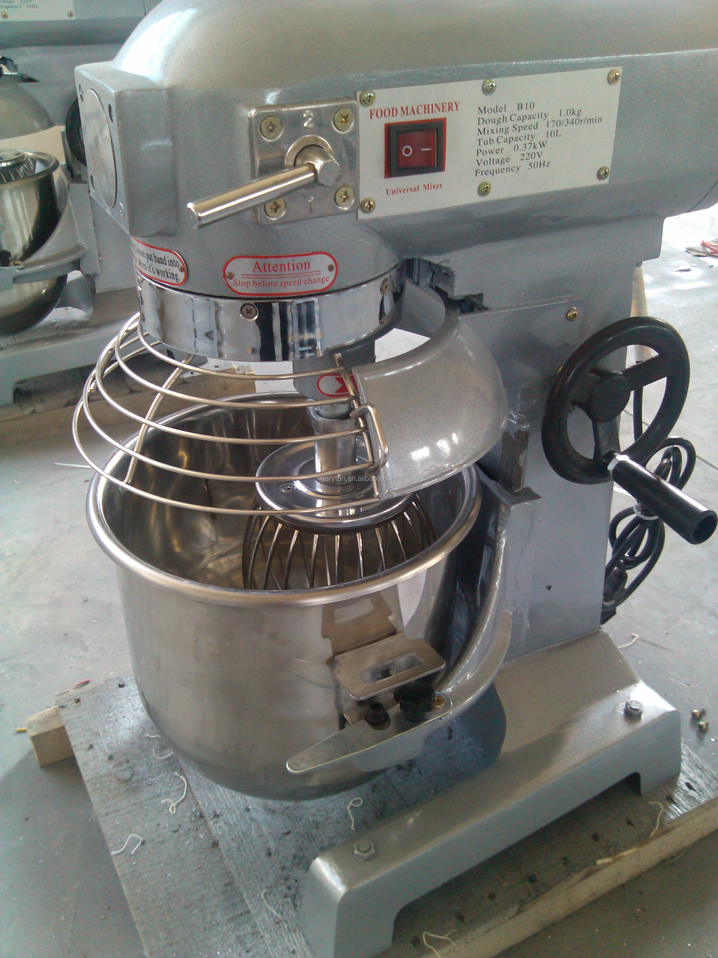 GRT-B15 Bakery Machines Commercial Food Mixer Planetary Cake Mixer