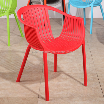 Cheap garden furniture outdoor living room hotel dining plastic dinner chair