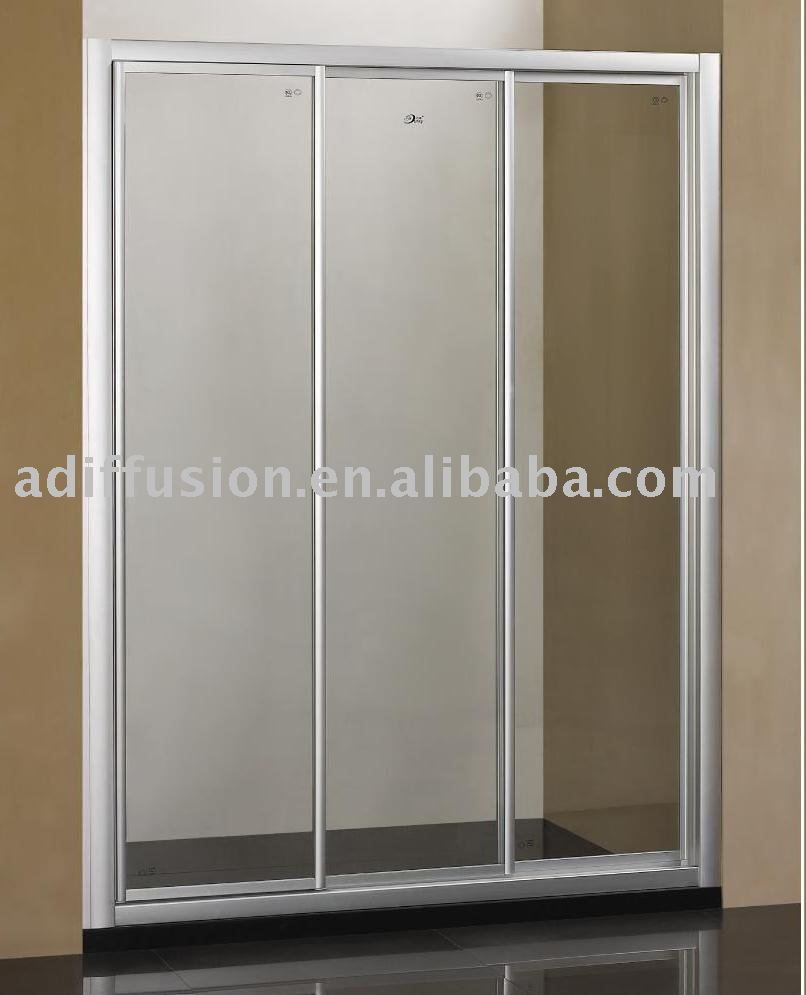 Sliding shower screen - Triple Lingage Sliding Shower Screen Buy Triple Lingage Sliding Shower Screen 3 Panel Shower Door Tripe Shower Screen Product On Alibaba Com