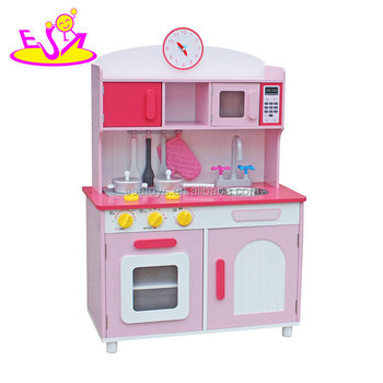New Design Pretend Play Wooden Kids Kitchen Toy Set With Music And Light  W10c175b - Buy Kitchen Toy Set,Kitchen Toy Set,Kids Kitchen Toy Set Product  ...