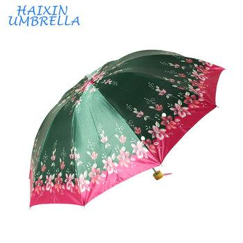 5d8b18cfe China Ladies Fashion 3 Folding Satin Umbrella In Bangladesh - Buy ...