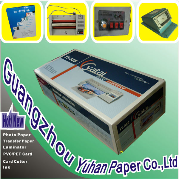 YaTai Photo paper HOT laminating machine