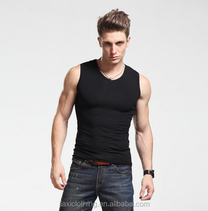 Men's Tank Tops Fashion Sleeveless shirts For Man Bodybuilding Tank Tops White Casual Summer Vest