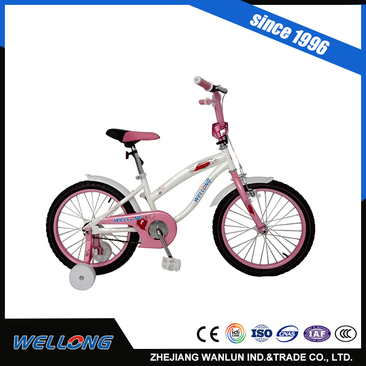 2017 cheap price high quality 12 14 16 pink bike for sale factory supplier united cycle from zhejiang aluminum rim kids bike