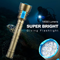 18000 Lumen Super Bright Underwater Light 9x CREE XM L L2 LED Diving 150m Scuba Diver
