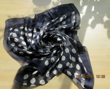 100% silk long dot printed GGT lady scarf