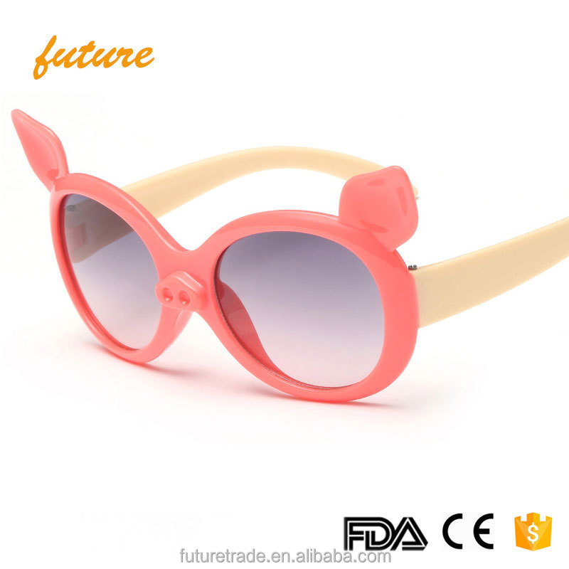 x6143 2017 Fashionable Cute Boy girl New Summer Children glasses baby UV400 CE Wholesale Kid Sunglasses