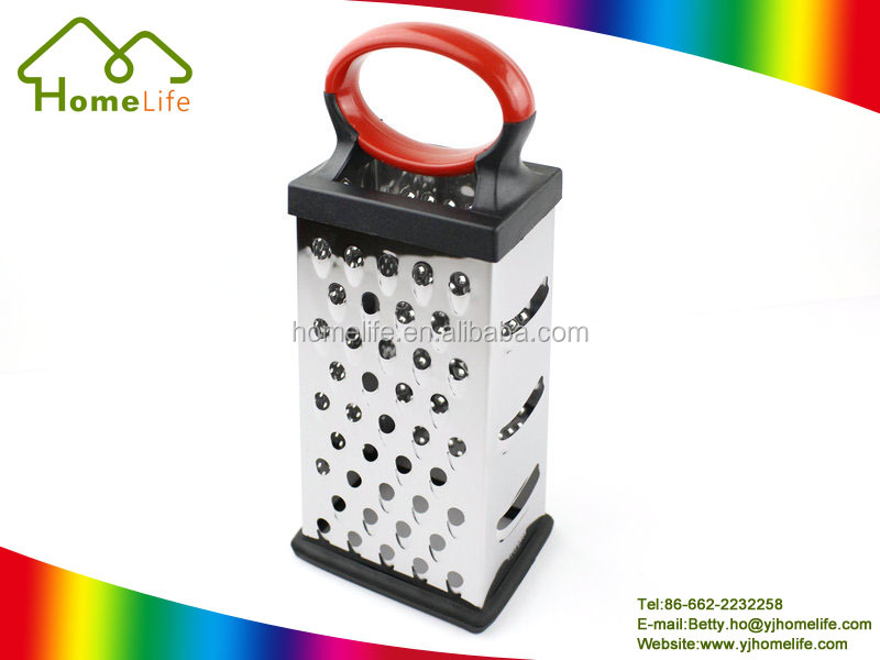 Kitchen Useful 4-side Vegetable Slicer Square Grater Cheese Grater
