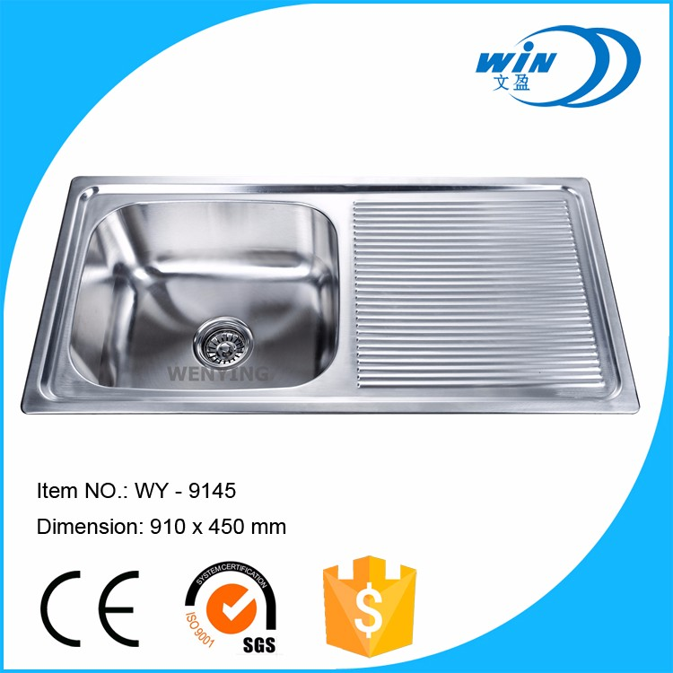 cheap price antibacterial stainless steel single bowl caravan kitchen sink. Interior Design Ideas. Home Design Ideas