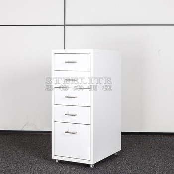 White Lateral Metal File Cabinet Helmer 5 Drawers Metal Book Cabinet