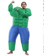 Perfect Corset Adult Size Inflatable Halloween Hulk Costume