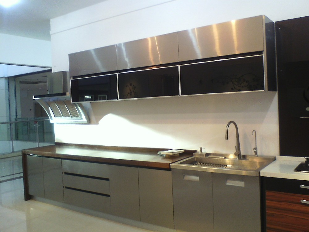 Modern Kitchen Cabinet Kitchen Used Stainless Steel
