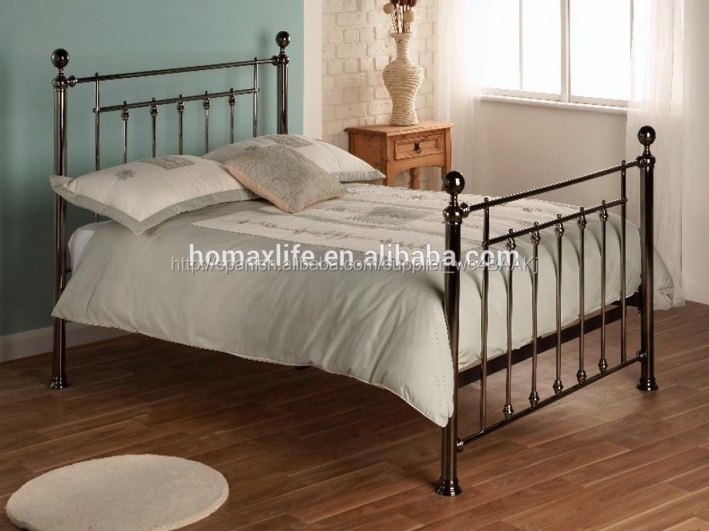 Elegantes muebles de metal de metal de doble cama cuna bd-3023-Camas ...
