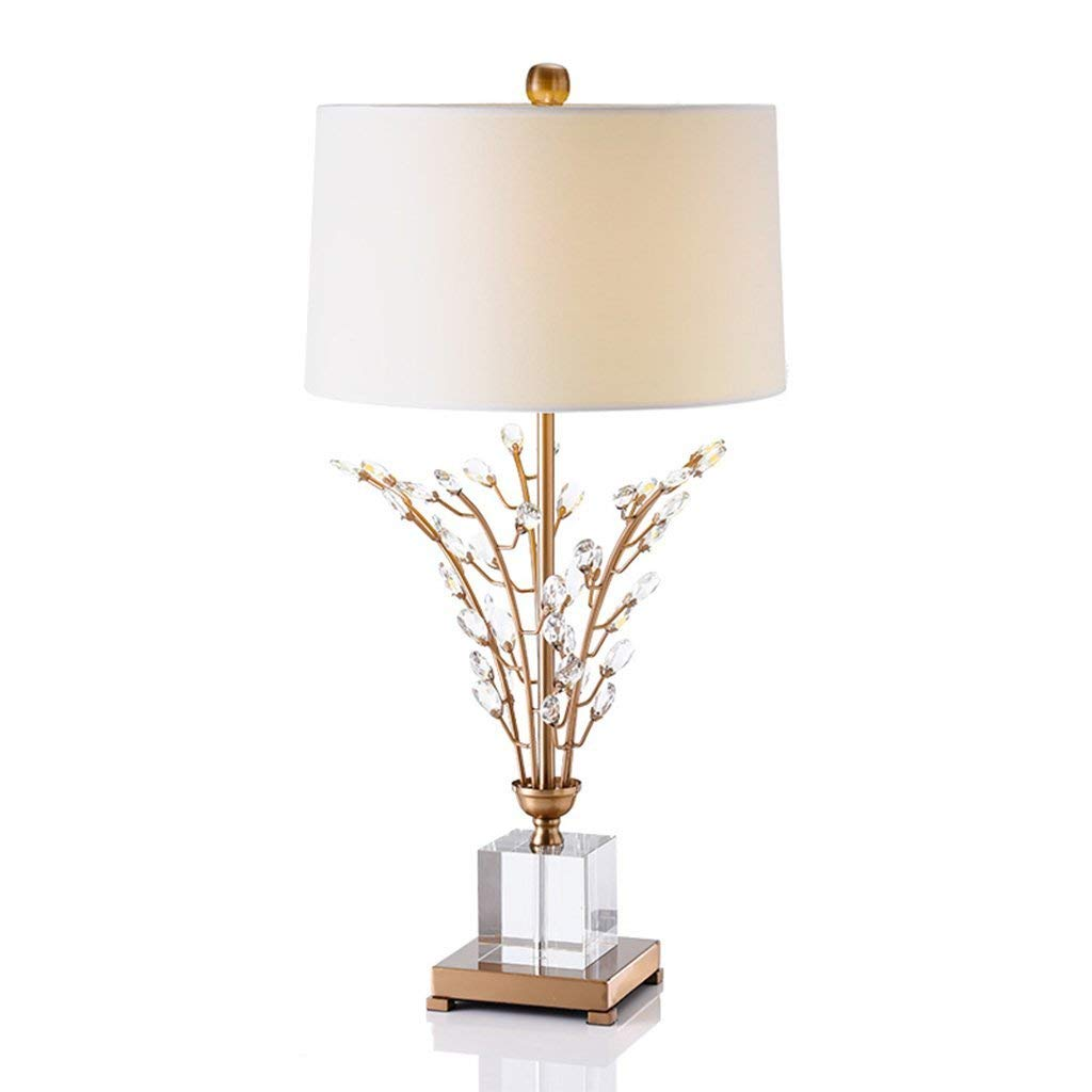 Ren Chang Jia Shi Pin Firm Atmospheric luxury crystal lamp high - end hotel Club villa living room bedroom lampA+