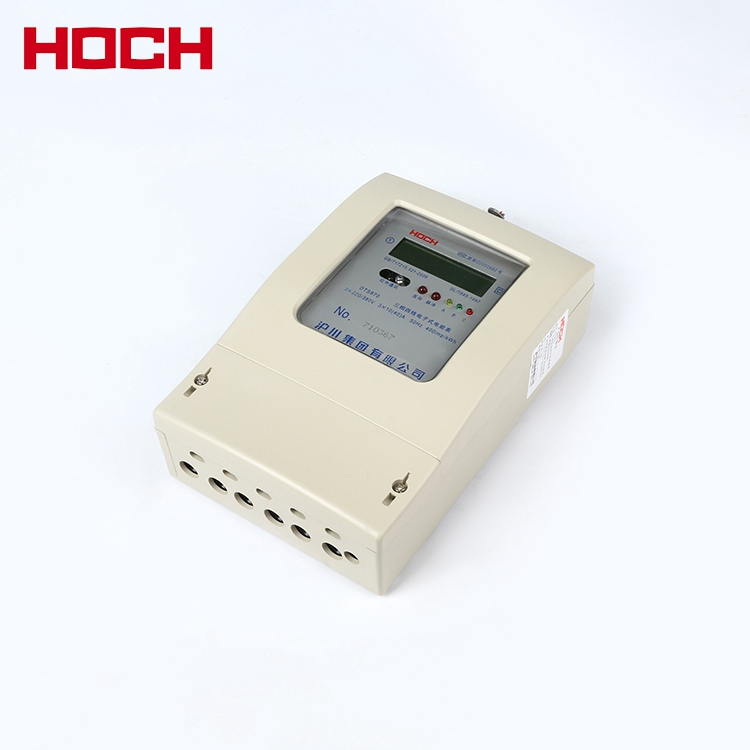 HOCH DTS870 electronic three phase four wire LCD display energy meter