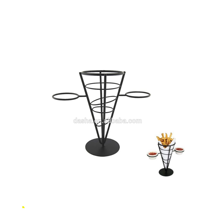 Iron works French Fries Wrought Iron One Cone Conical Basket