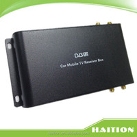 2016 new product isdb-t car tv receiver car set top box with 4 antenna