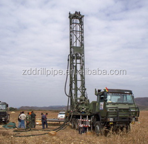 CDC-350J Truck - Mounted Top Drive Large Diameter Water Well Drilling Rig Machine