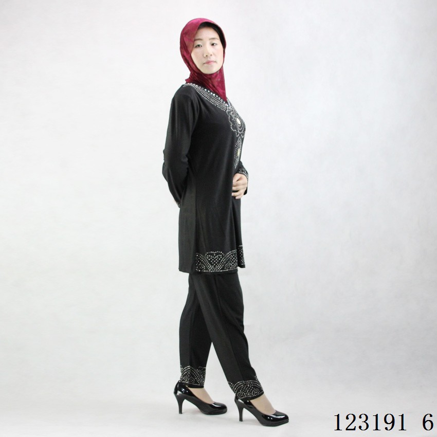 Factory wholesale stock dubai muslim abaya with good price
