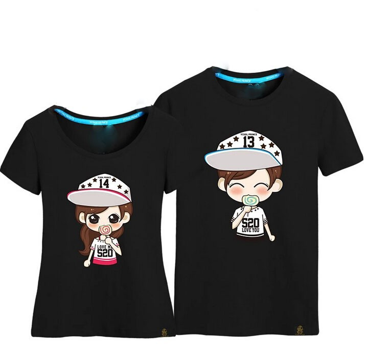 Fashion Design Couple T Shirts Funny Couple T Shirts Lovely T Shirts View Fashion Design Couple T Shirts Oem Fashion Design Couple T Shirts Product Details From Jiangxi Brilliantex Industries Co Ltd On