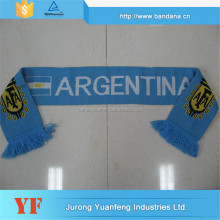 fashion knitting national flag scarf