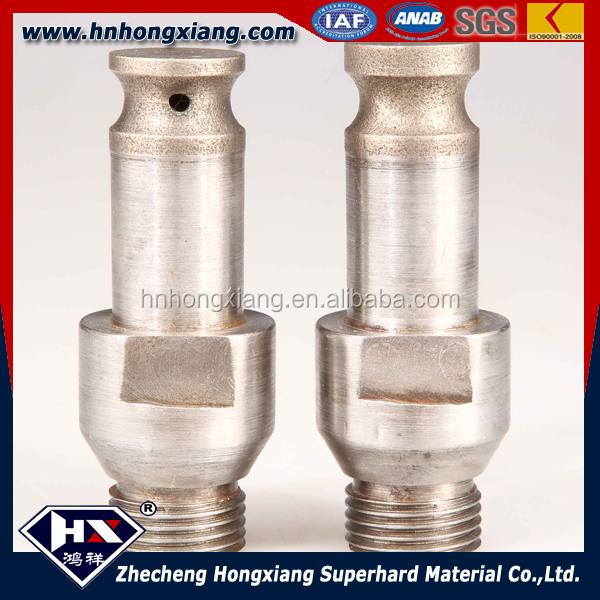 sintered diamond glass grinding drill bit for pencil router granite ceramic marble