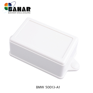 Wall mounted plastic electrical distribution box