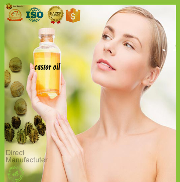 Bulk pharmaceutical grade organic castor oil for sale for skin/hair care