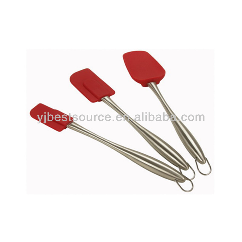 Silicone spatula with metal handle Kitchen tool