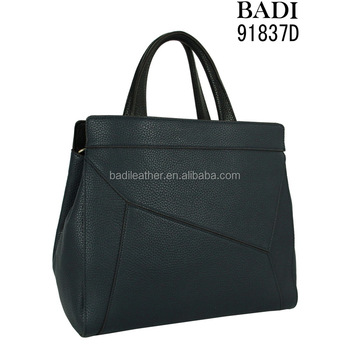 Latest fashion tote bag raw leather weekend bag wholesale handbags india  for woman fc74ae748e926