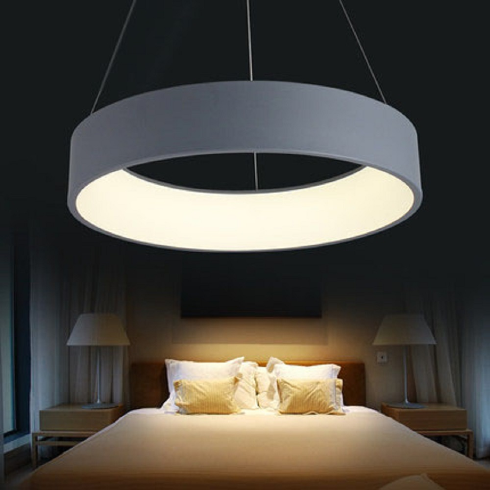 Modern new products acrylic led hanging pendant light fixtures