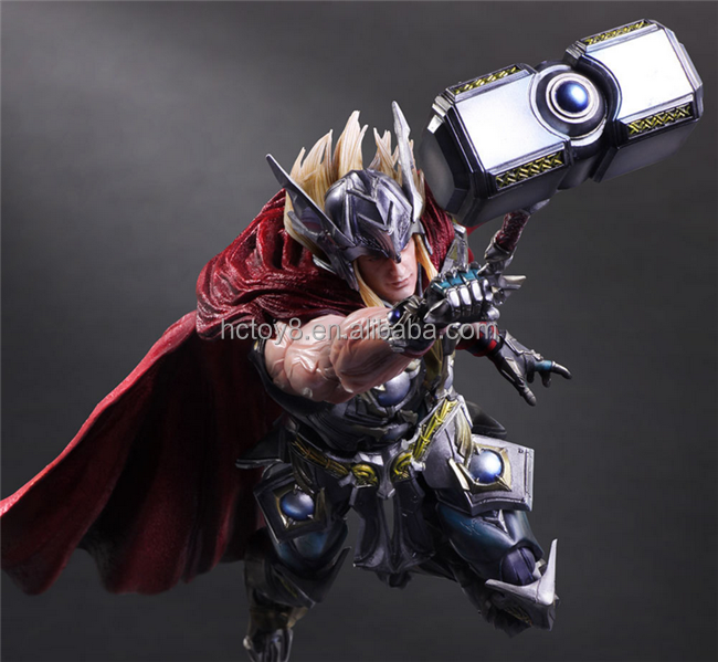 Gzltf Wholesale The Mighty Thor Play Arts Kai 27 cm PVC Action Figures