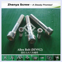 China supplier Stainless Steel Allen Bolt of high quality and low price