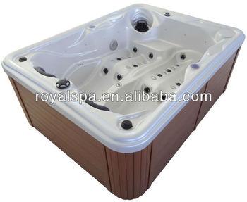 Portable Walk In Bathtub Whirlpool Double Hot Tub With