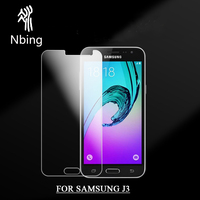 2.5D 9H Mobile Phone Glass Screen Protector For Samsung Galaxy J3 Pro 2016 2017 J310 J320 Tempered Glass