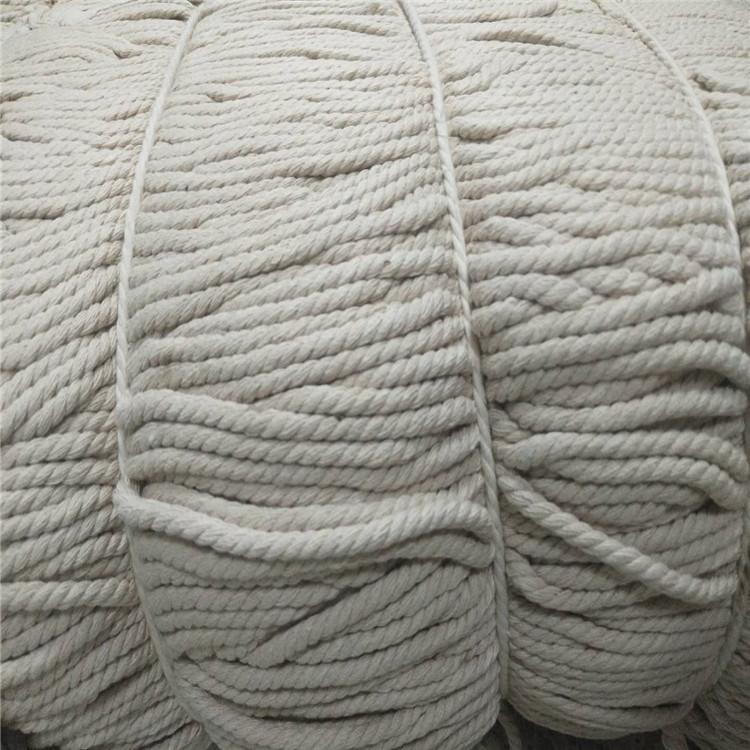 Corde en macramé torsadée de Offre Spéciale 3mm 4mm 5mm corde en coton naturel