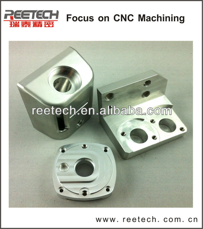 China factory anodized custom cnc machining parts made of aluminum