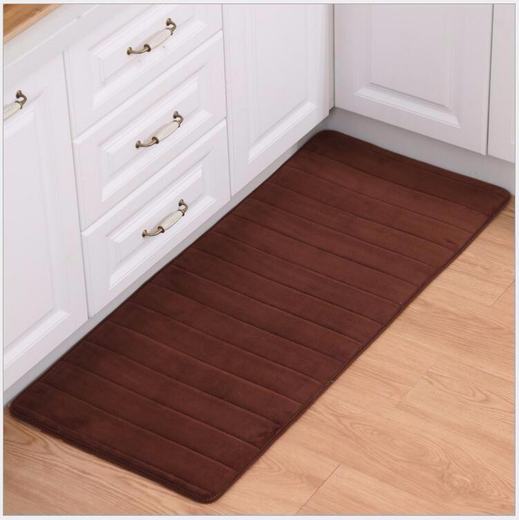 2PCS Set Carpet Coral Velvet Pad Carpet Floor Mat Carpet And Rug For  Bathroom Kitchen Non-slip Mat Door Carpet Mat Alfombras - us230 a89d302c294b