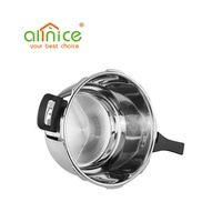 High quality stainless steel cooking pot pressure cooker rice cooker